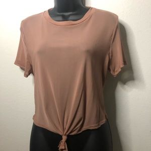 Rose mesh t shirt